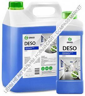 """Моющее средство с дезинфицирующими свойствами """"Deso"""" 1кг; 5 кг."""